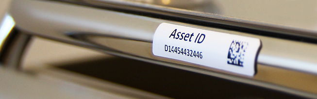 photograph about Printable Asset Tags called RFID Canada Silverline Mount-upon-Metallic Printable Labels